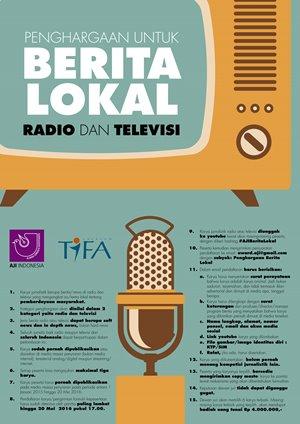 Penghargaan untuk Berita Lokal Radio dan Televisi
