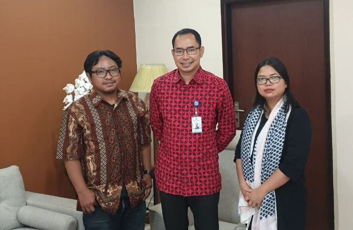 Indonesian Journalists Safety Committee meets Foreign Ministry to follow up the brutal shooting of Indonesian journalist