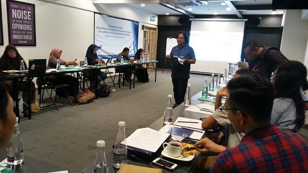 22 Jurnalis Pulau Jawa Ikut Pelatihan Sustainability Reporting SJAJI - GRI