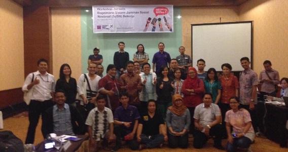 Liputan Isu Jaminan Sosial - AJI, FES dan DJSN Gelar Worshop SJSN di Manado