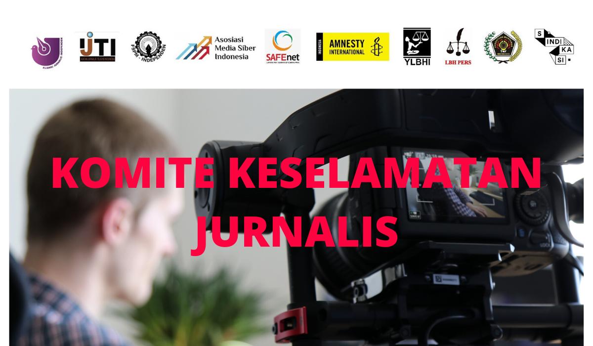 Komite Keselamatan Jurnalis Kembali Serukan Pentingnya Jaga Jarak Aman untuk Pekerja Media