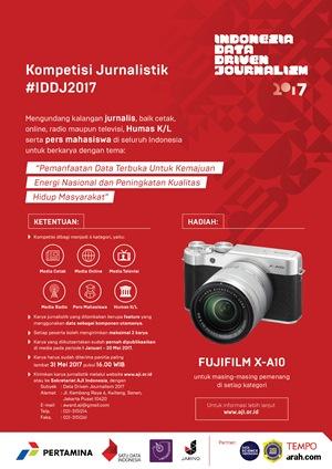 Kompetisi Indonesia Data Driven Journalism 2017
