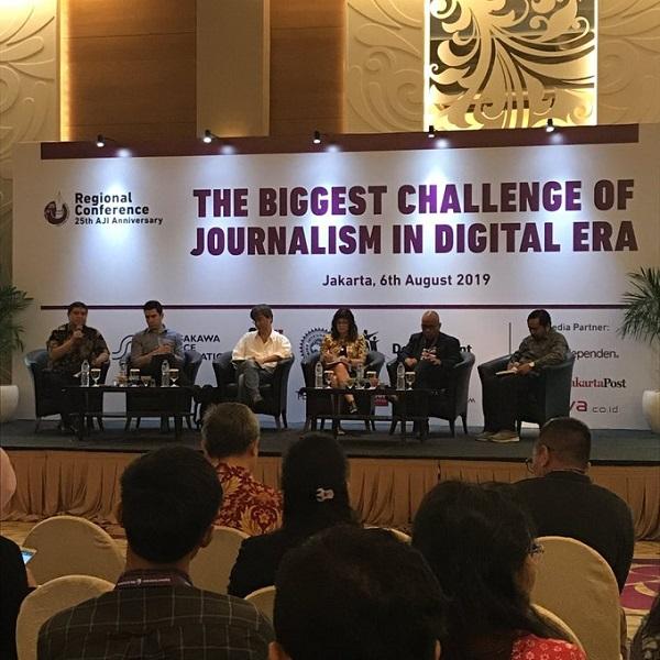 Era Disrupsi Digital, Tantangan Pers Makin Berat