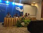 Konferensi pers AJI di JCC, 3 Mei 2017