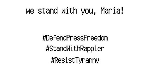 AJI Condemns the Arrest of Philippines Journalist Maria Ressa