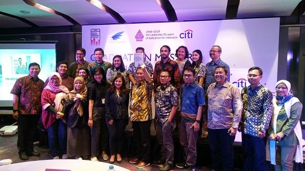 Citi Indonesia dan AJI Indonesia Umumkan Lulusan Terbaik Program