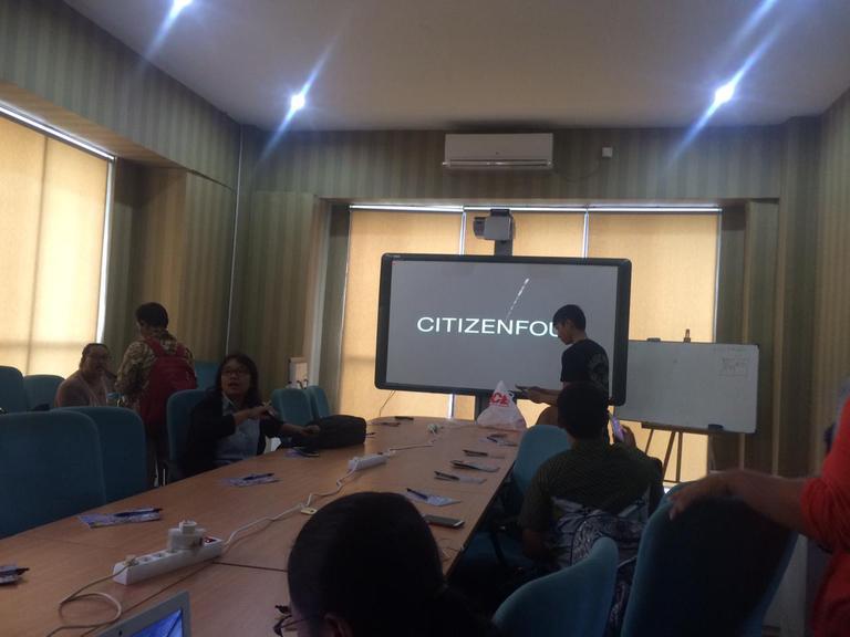 AJI - Google - Internews gelar pelatihan jurnalistik di Denpasar, 3-4 Maret 2018.
