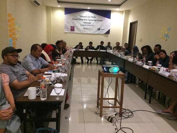 Pelatihan Keimanan dan Media: Sebuah Dialog Antar Agama bagi Jurnalis Indonesia