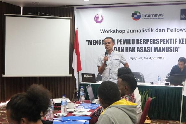 Workshop Jurnalistik dan Fellowship Mengawal Pemilu Berperspektif Keragaman dan HAM
