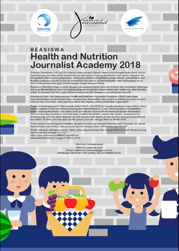 B E A S I S W A Health and Nutrition Journalist Academy  2018