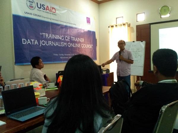 Kursus Online Jurnalisme Data Segera Diluncurkan
