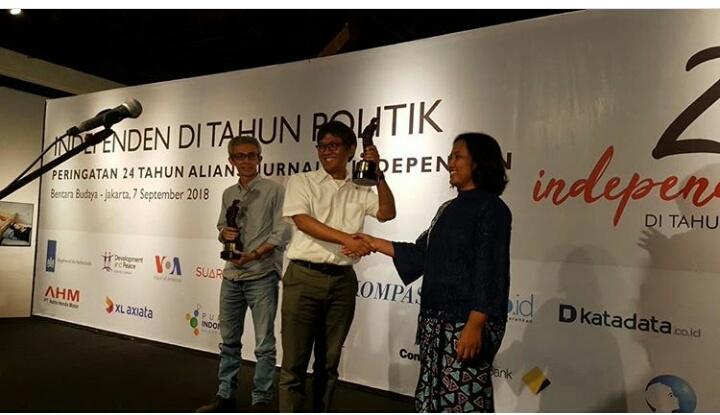 Jurnalis BBC dan Tim Tempo Raih Udin Award 2018