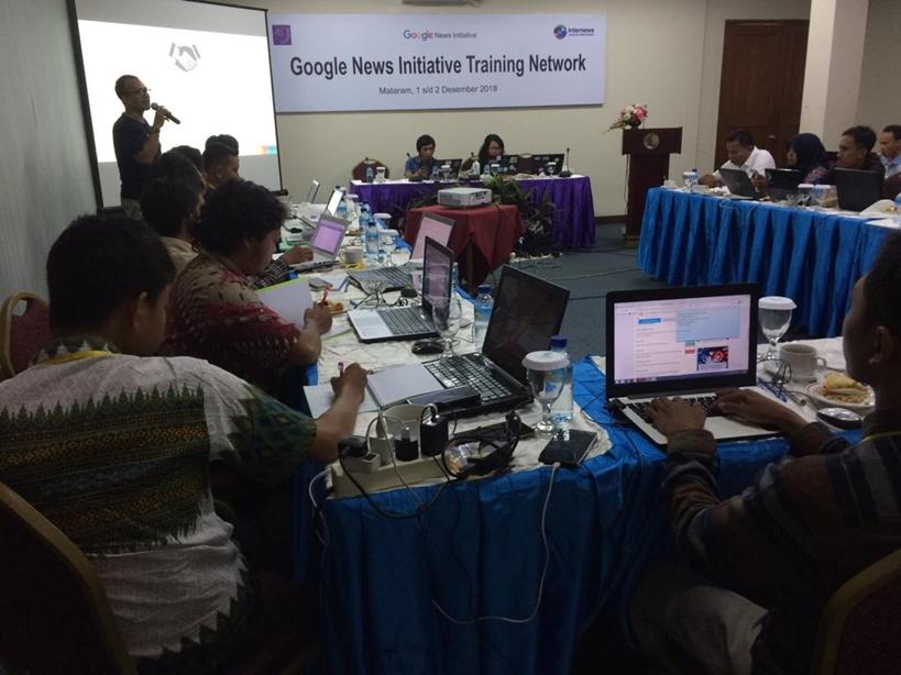 Gelar Training di Mataram, Google Ungkap Teknik Menangkal Hoax