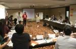 Suasana pelatihan Jurnalistik dan Media AJI dan DW, Selasa (24/9). Dok. AJI Indonesia