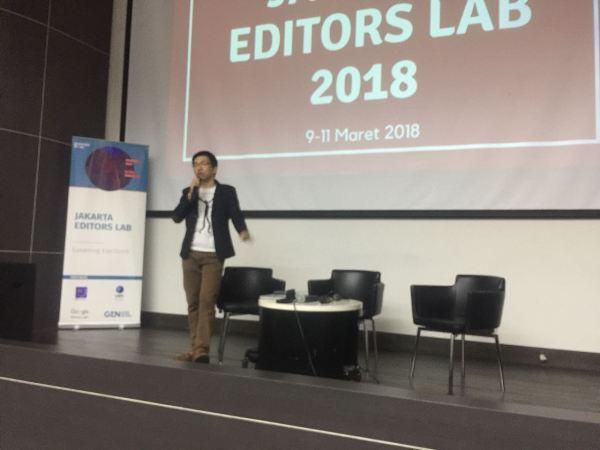 AJI Gelar Jakarta Editors Lab 2018 di UMN