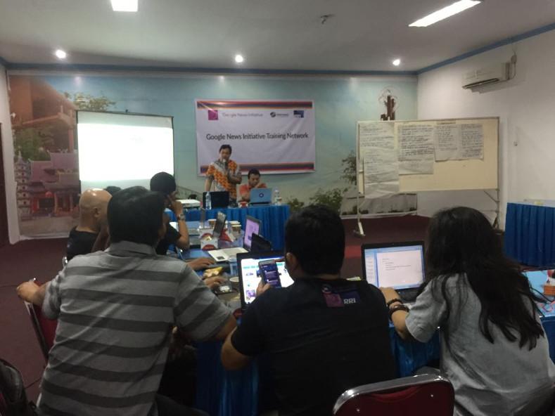 25 Jurnalis di Pontianak ikut Google News Initiative Training