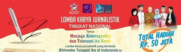 Pengumuman  Penghargaan Lomba Karya Jurnalistik Isu Keberagaman 2016