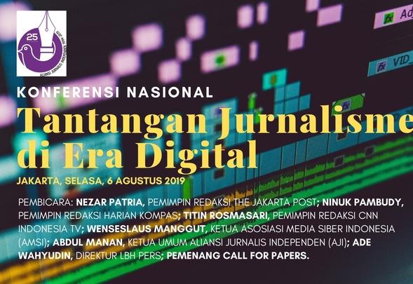 Konferensi Nasional AJI: Tantangan Jurnalisme di Era Digital