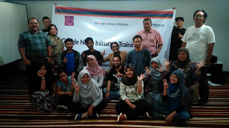 Jurnalis di Palembang Ikuti Google News Initiative Training Network