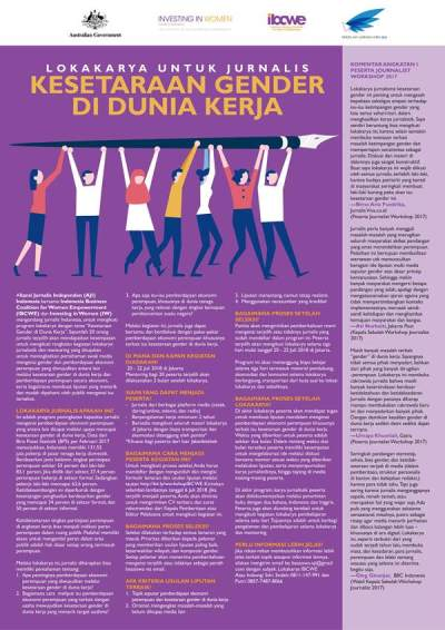 Lokakarya untuk Jurnalis bertema