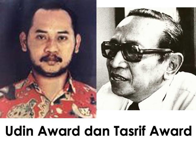 Penghargaan Tasrif Award dan Udin Award 2017