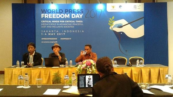 Workshop on Human Rights and Safety for Journalist, 1 May 2017.