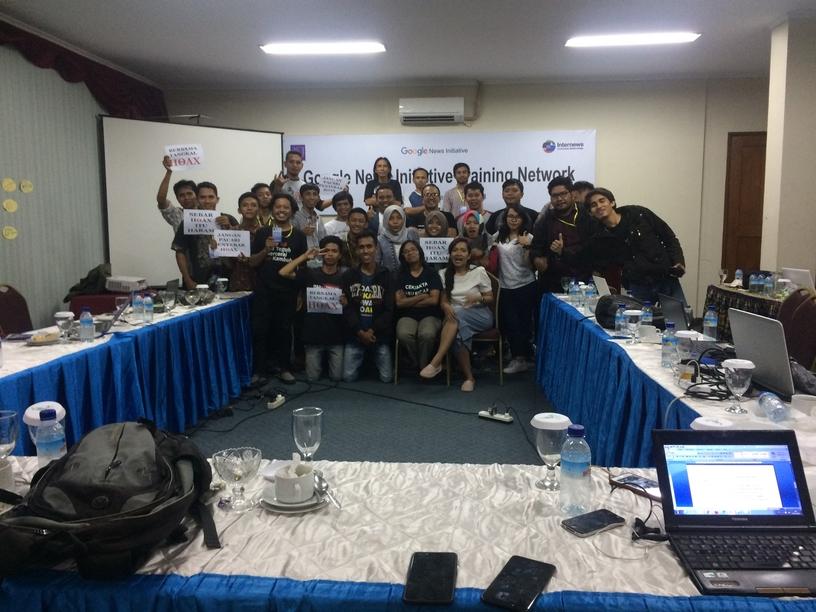 Google News Initiative Training Network - Mataram