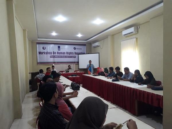Aktivitas Workshop HAM di Banda Aceh