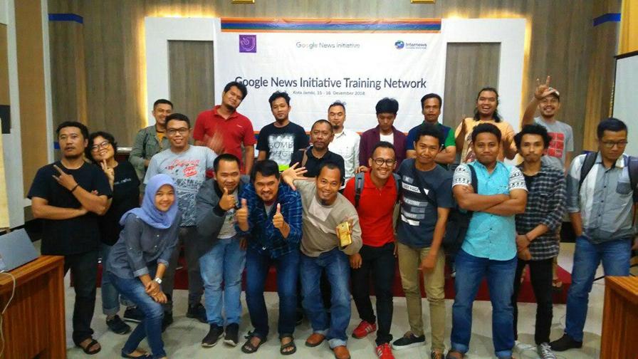 Google News Initiative Training Network - Jambi